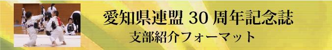 第30回日本拳法愛知県民大会支部紹介フォーマットダウンロード
